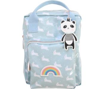 backpack white rabbit